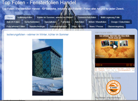 TOP FOLIEN – FENSTERFOLIEN