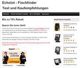 Echolot / Fischfinder
